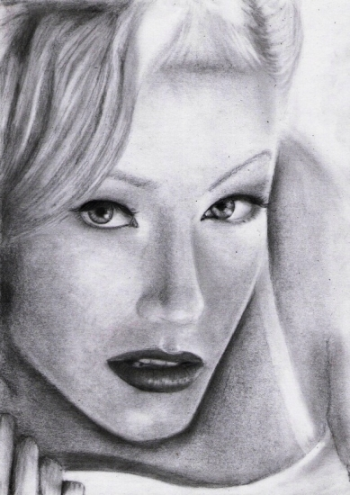 Christina Aguilera by Ceruzzka